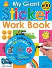 My Giant Sticker Work Book [With CDROM] 942860
