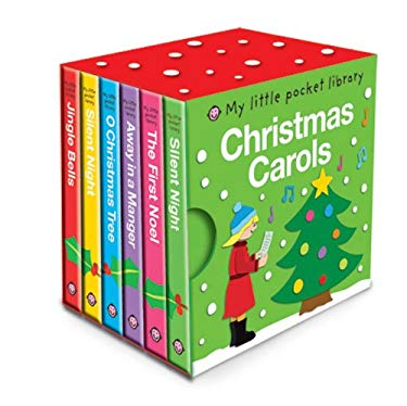 My Little Pocket Library Christmas Carols 9780312509521