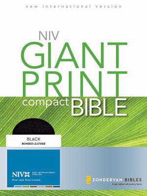 Compact Bible-NIV-Giant Print 9780310435297