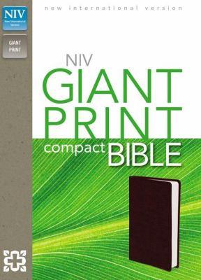 Compact Bible-NIV-Giant Print 9780310435303