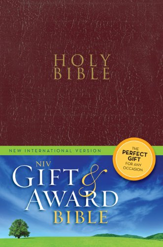 Gift and Award Bible-NIV 9780310434368