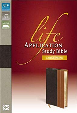 NIV Life Application Study Bible, Large Print 9780310434795
