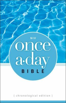 Once-A-Day Bible-NIV-Chronological 9780310950950