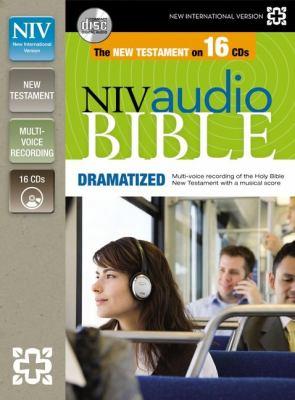 NIV New Testament Audio Bible, Dramatized 9780310436485