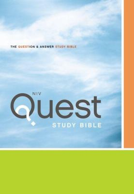 Quest Study Bible-NIV 9780310941484
