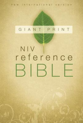 Reference Bible-NIV-Giant Print 9780310434962