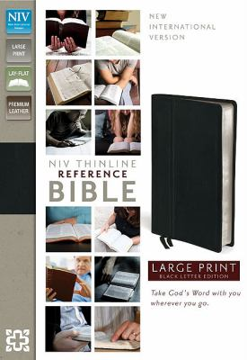 Thinline Reference Bible-NIV-Large Print 9780310436379