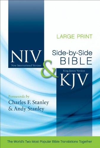 Side-By-Side Bible-PR-NIV/KJV-Large Print 9780310436898