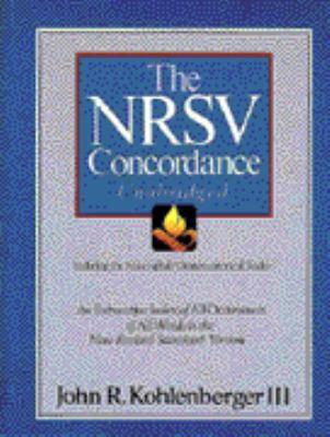 NRSV Concordance Unabridged: Including the Apocryphal/Deuterocanonical Books 9780310539100