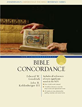 New International Bible Concordance: Includes All References of Every Significant Word in the NIV 9780310229025