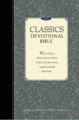 New International Version Classics Devotional Bonded Leather Navy 9780310919674