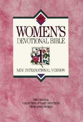 New International Version Women's Devotional Bible Large Print Hardcover Pink 9780310916437