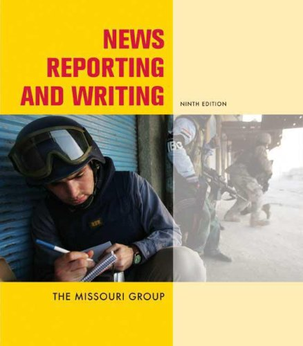 News Reporting and Writing 9780312464196