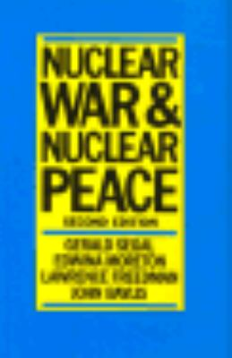 Nuclear War and Nuclear Peace 9780312021146
