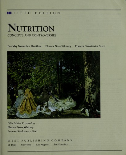 Nutrition: Concepts and Controversies - 5th Edition