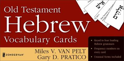 Old Testament Hebrew Vocabulary Cards 9780310259862