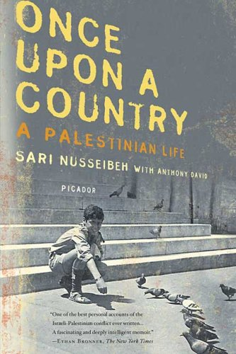 Once Upon a Country: A Palestinian Life 9780312427108
