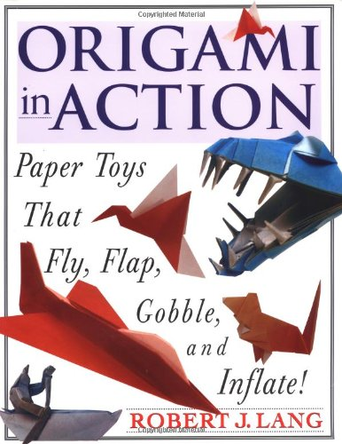 Origami in Action 9780312156183