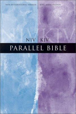 Parallel Bible-PR-NIV/KJV-Large Print 9780310929963