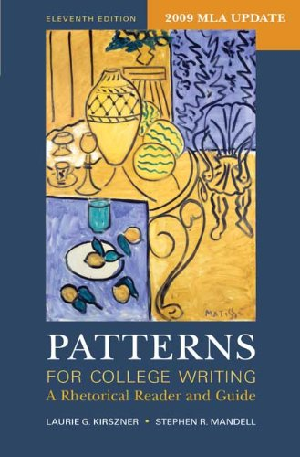 Patterns for College Writing: A Rhetorical Reader and Guide 9780312601522