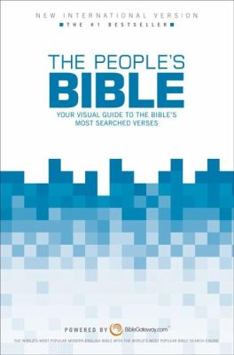People's Bible-NIV: Your Visual Guide to the Bible's Most Searched Verses 9780310438595