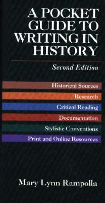 Pocket Guide to Writing History 9780312180065