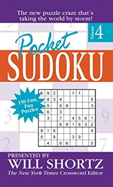 Pocket Sudoku: Volume 4 9780312940461