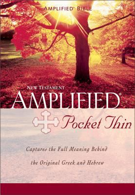 Amplified Pocket Thin New Testament-AM 9780310951650