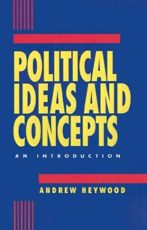 Political Ideas and Concepts: An Introduction 9780312121082
