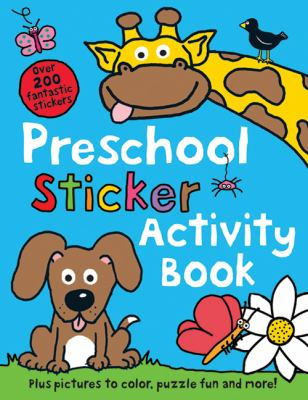 Preschool Sticker Activity Book 9780312509514