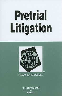 Pretrial Litigation in a Nutshell 9780314184276