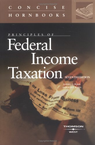 Principles of Federal Income Taxation of Individuals 9780314161468
