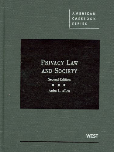 Privacy Law and Society - 2nd Edition