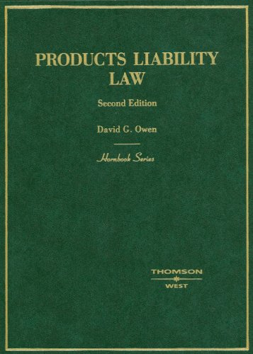 Products Liability Law 9780314170859