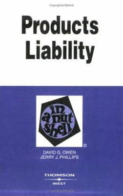 Products Liability in a Nutshell 9780314155108