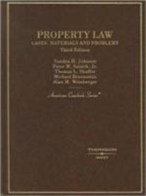 Property Law: Cases, Materials and Problems 9780314160119