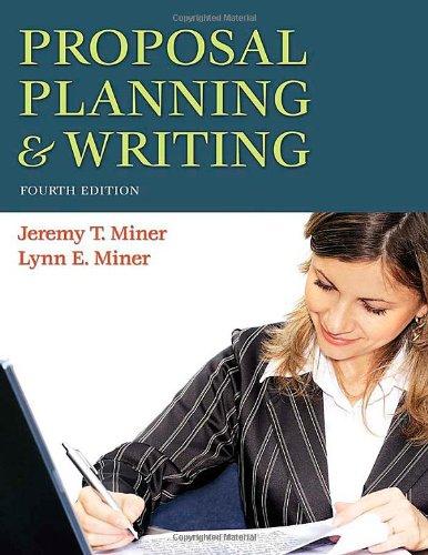 Proposal Planning & Writing 9780313356582