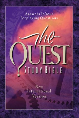 Quest Study Bible-NIV: Answers to Your Perplexin Questions 9780310924128