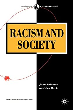 Racism and Society 9780312161149
