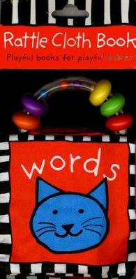 Rattle Cloth Book Words 9780312494513