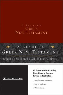 Reader's Greek New Testament-FL 9780310248880