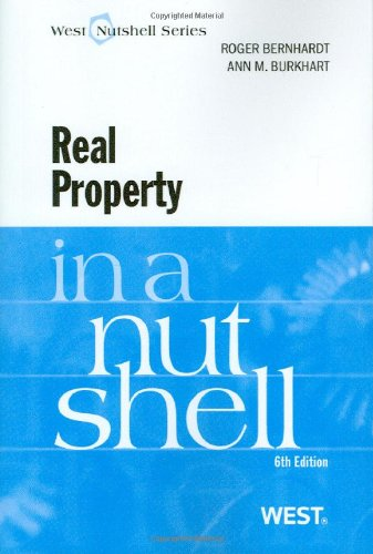 Real Property in a Nutshell 9780314261878