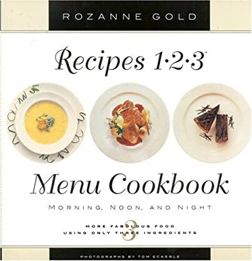 Recipes 1-2-3 Menu Cookbook 9780316314855