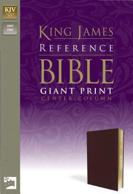 Reference Bible-KJV-Giant Print Center Column 9780310931720