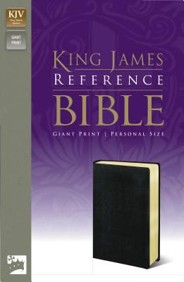 Reference Bible-KJV-Giant Print Personal Size 9780310931911