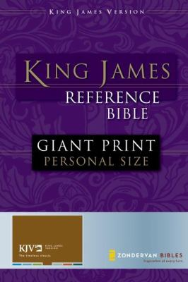 Reference Bible-KJV-Giant Print Personal Size 9780310931942