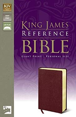 Reference Bible-KJV-Giant Print Personal Size 9780310931973