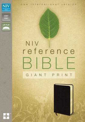 Reference Bible-NIV-Giant Print 9780310435044