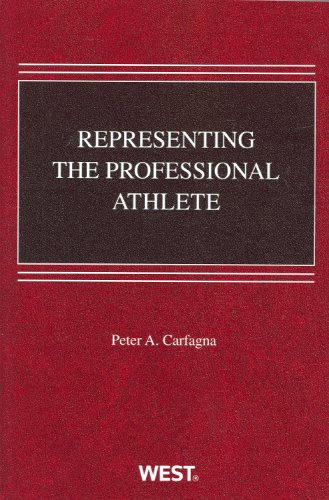 Representing the Professional Athlete 9780314204417
