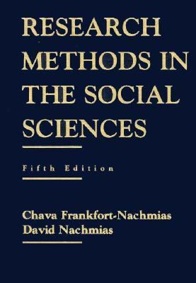 Research Methods in the Social Sciences 9780312101596